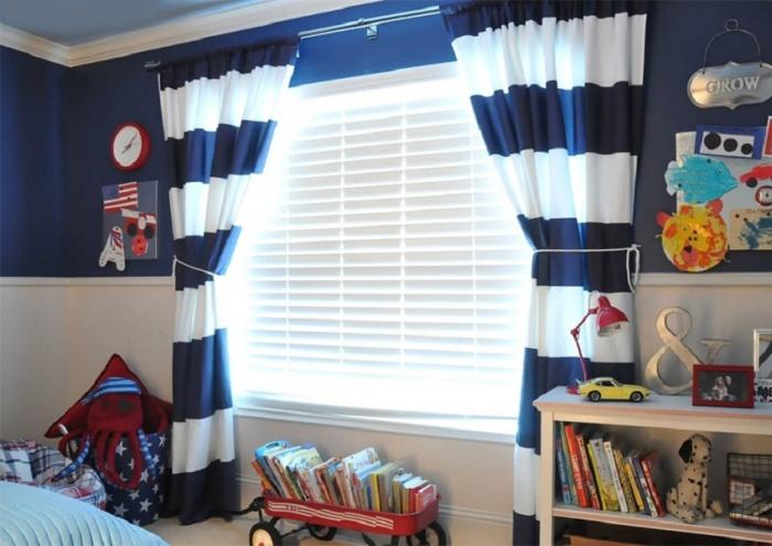 28029bb949d4 Farebné roztoky. Výber farebnej palety záclon je ďalším krokom k vytvoreniu  harmonickej atmosféry v detskej izbe ...
