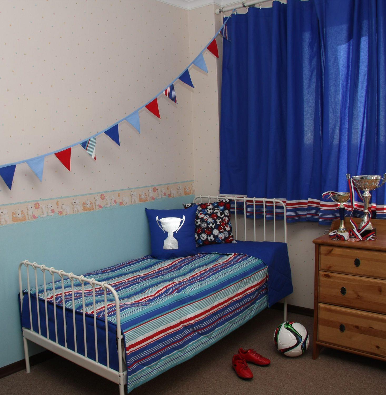 06c01da1e9fc Záclony v detskom chlapcovi. Závesy pre detskú izbu dievčat ...
